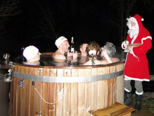 Bain Norvégien Père Noel