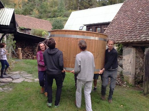 arrivée bain norvégien