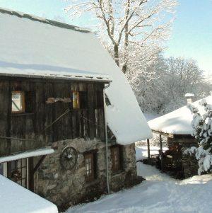 Gite jumelle soleil neige hiver